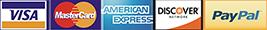 RainWise accepts Visa, Mastercard, American Express, Discover, and PayPal.